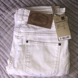 Authentic BURBERRY White Bootcut Jeans US size 2